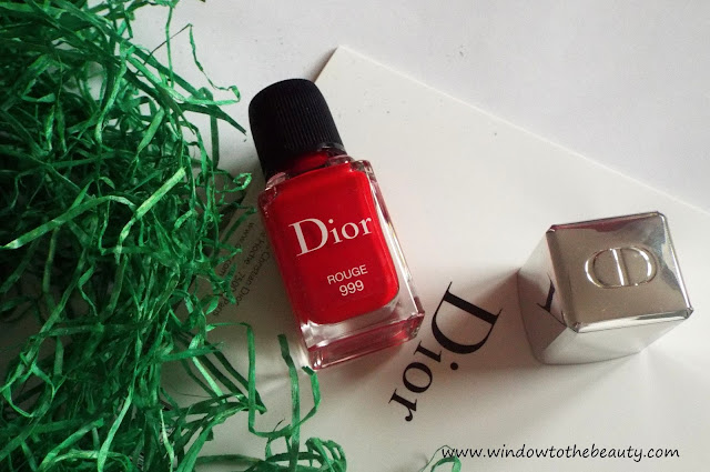 Dior lakier Vernis rogue 999