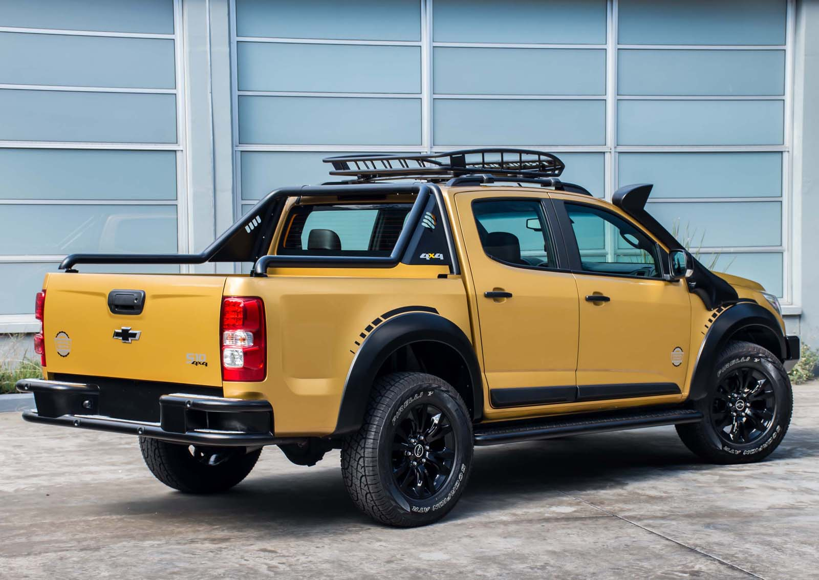 Chevy S10 Trailboss Concept Looks More Tonka Than Bumblee ...
