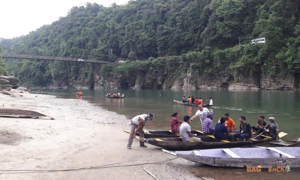 Dwaki River, Meghalaya
