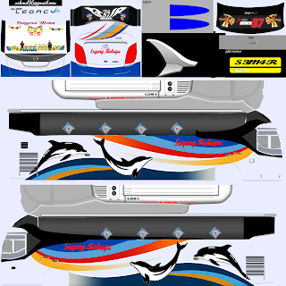 Download Livery Bus Sugeng Rahayu Dolphin