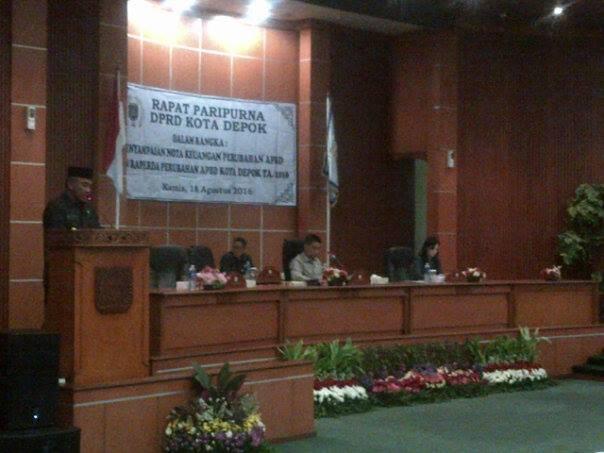APBD Perubahan Kota Depok Naik Rp.500 Milyar