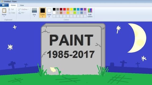 بعد 32 عاما، مايكروسوفت تزيل MS Paint من إصداراتها