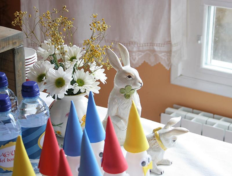 Decorar en familia: Merienda de cumpleaños temática Blancanieves13