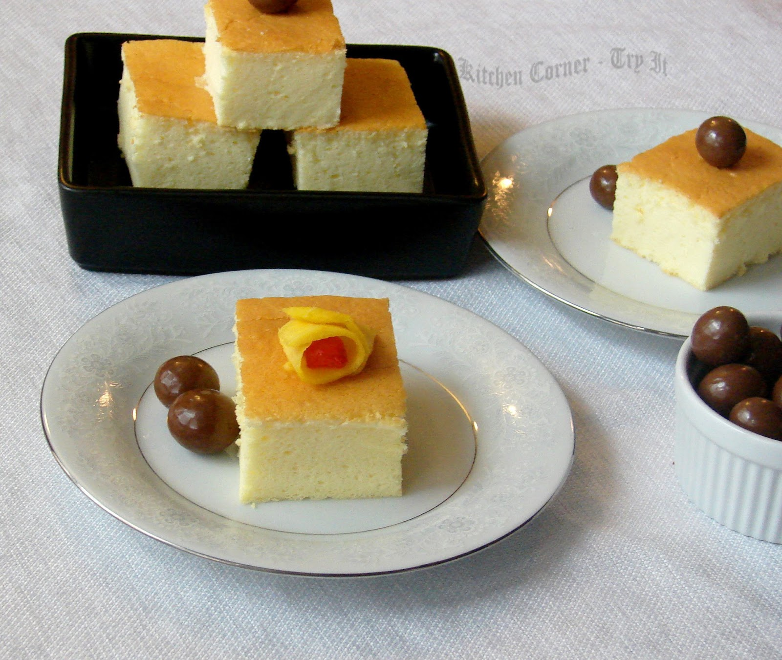 Cotton Soft Japanese Cheesecake~Baking Partners Challenge#9
