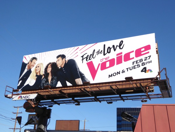 Voice season 12 billboard