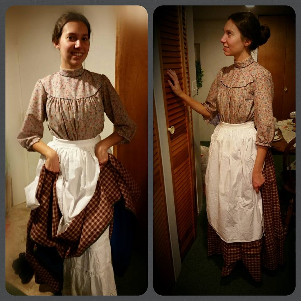 I especially love how I look in the photo on the right!  sc 1 st  Pour La Victoire & Pour La Victoire: Edwardian Kitchen Maid Outfit