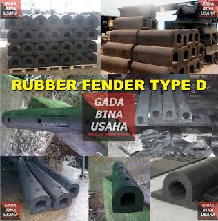 Rubber Fender Type D