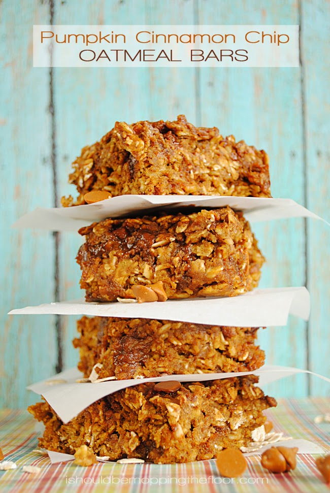 Weight Watchers Pumpkin Oatmeal Breakfast Bars