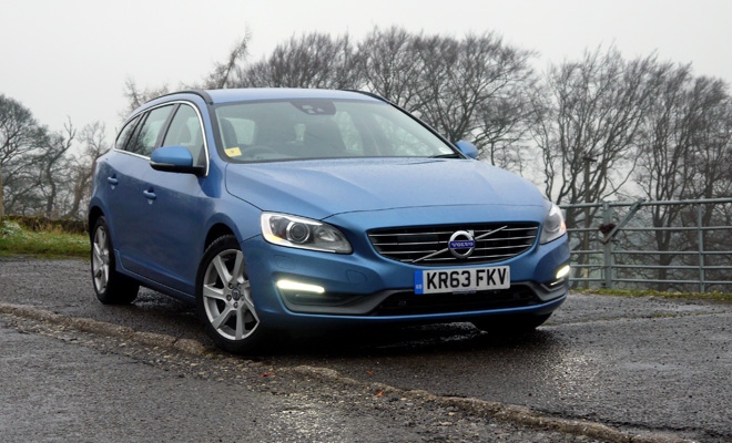 Volvo V60 D4 front view