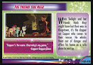 My Little Pony The Friend You Need MLP the Movie Trading Card