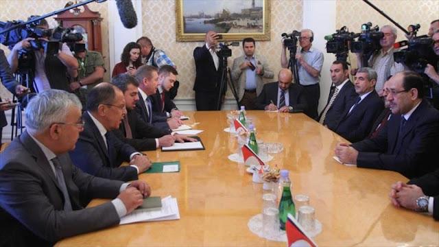 Irak pide a Rusia una 'significativa' presencia militar y política