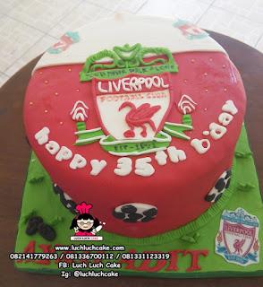 Kue Tart Liverpool FONDANT 2D