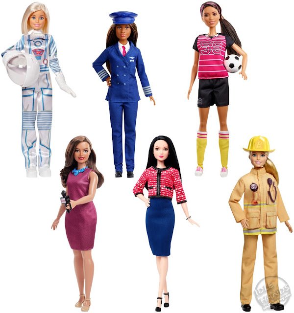 Toy Fair 2019 Mattel Barbie Career 60th Anniversary Doll Assortment 06