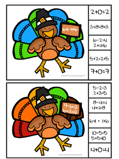 https://www.teacherspayteachers.com/Product/Thanksgiving-Turkey-Math-Properties-of-Addition-Task-Cards-Free-2877931