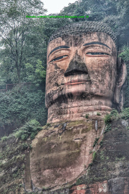 Giant Buddha, Leshan, Sichuan, China