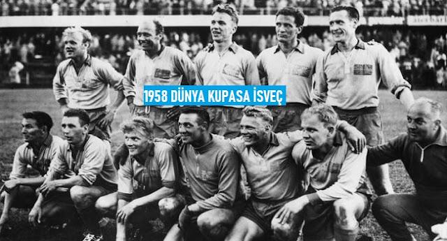 Dünya Kupası'nın Geçmişten Günümüze Kadar Olan Tarihçesi 1958 İsveç - Kurgu Gücü