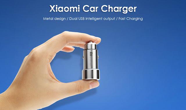 Carregador de isqueiro Original da Xiaomi