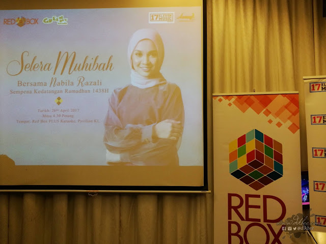 Buffet Selera Muhibah di Red Box PLUS bersama Awang Brand