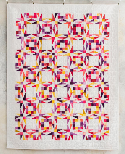 Twinkling Twilight Quilting Diagrams - Free Pattern