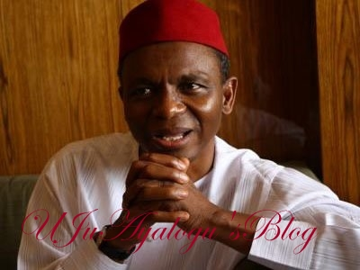 I've been praying Nigeria's oil dries up totally - El-Rufai