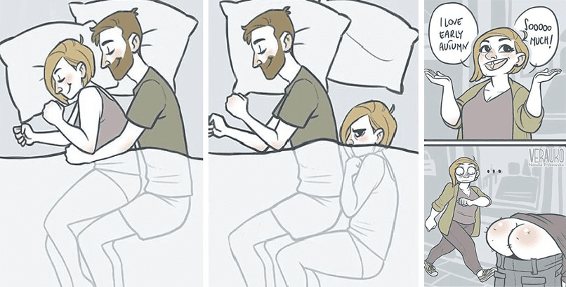 28 Hilarious Comics About Love And Life By Natalia Trykowska