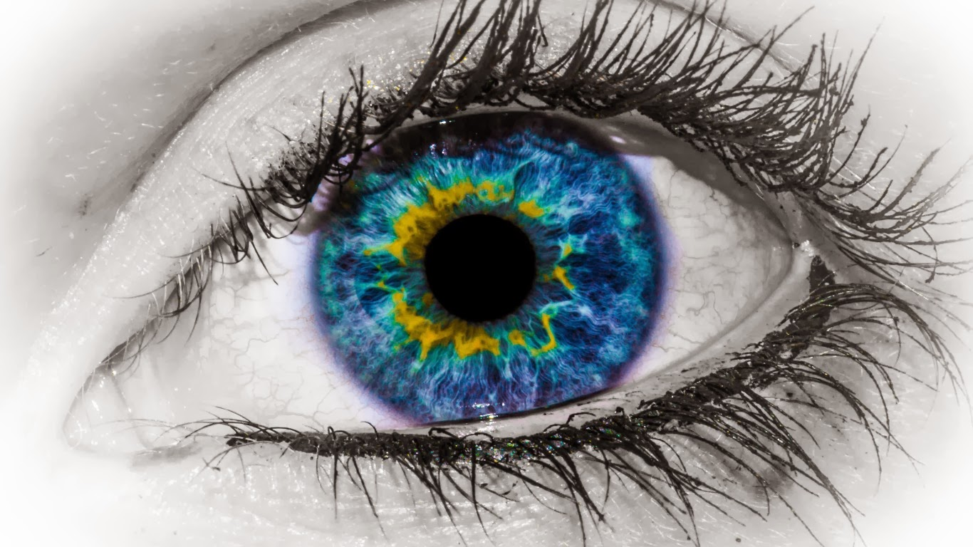 Eye Macro Wallpaper