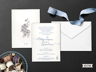 wedding invitations with peacock