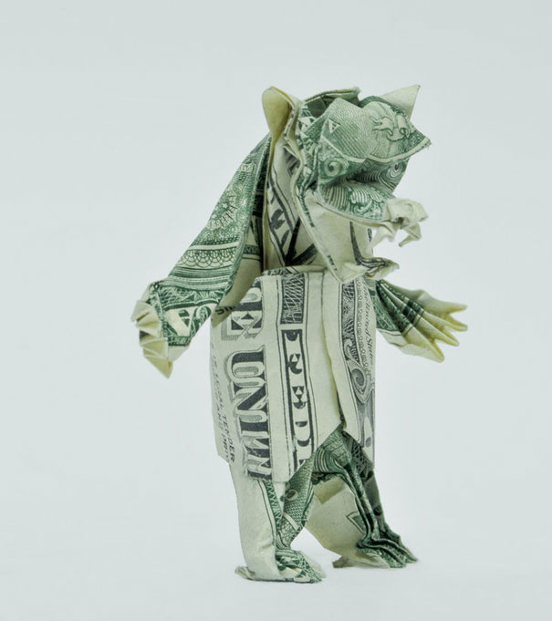 Money-Origami-Bear