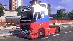 Slovenia Volvo skin