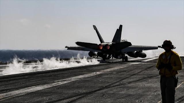 Informe: Cazas de EEUU apoyan sobrevuelos israelíes en Siria
