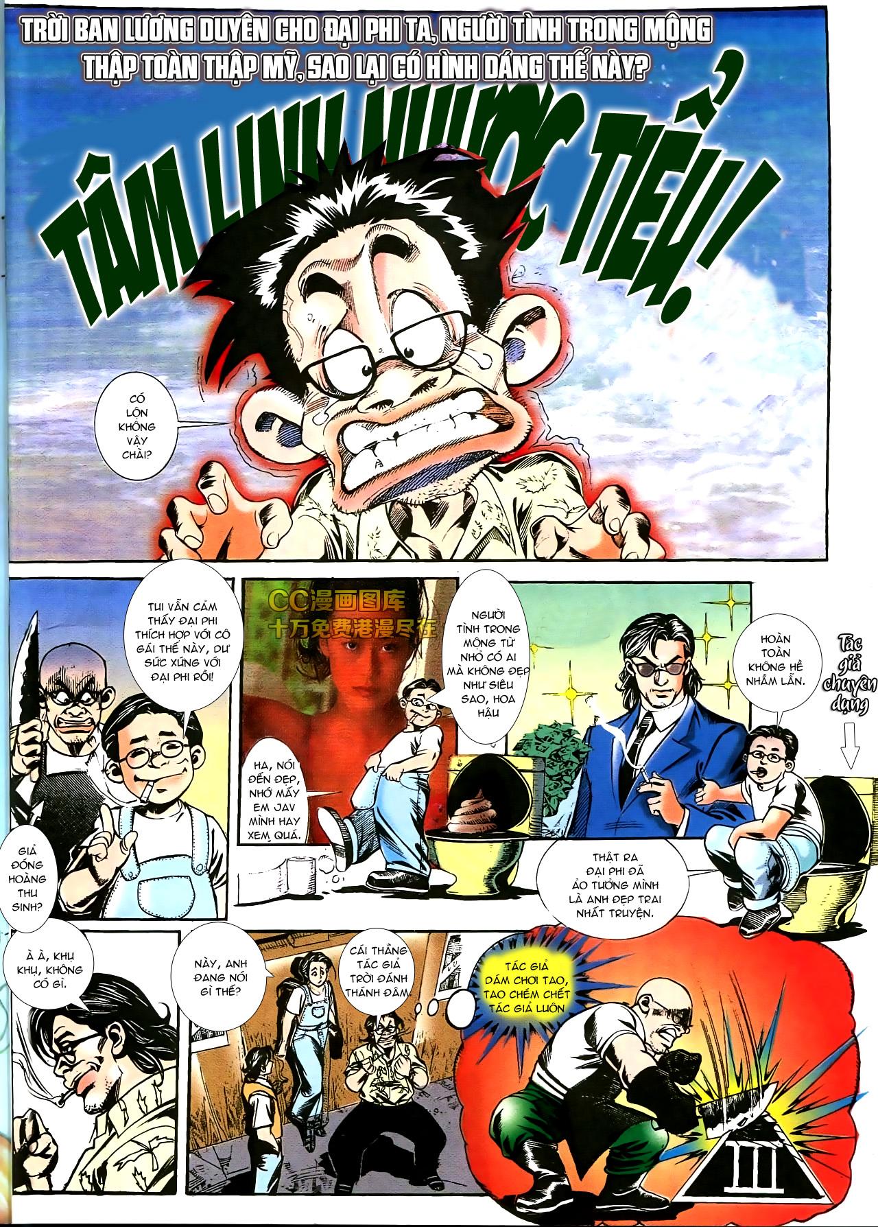 Người Trong Giang Hồ chapter 178: bối cảnh quạ đen trang 4