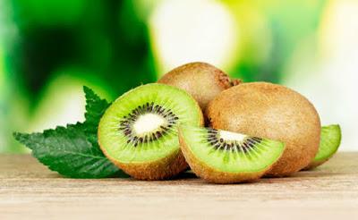 Kiwi Verde em Folha