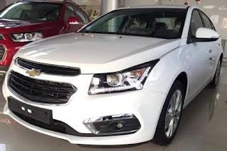 Bảng giá xe GM Chevrolet mới nhất 2017