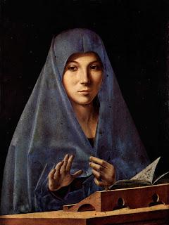 Antonello da Messine, Virgen
