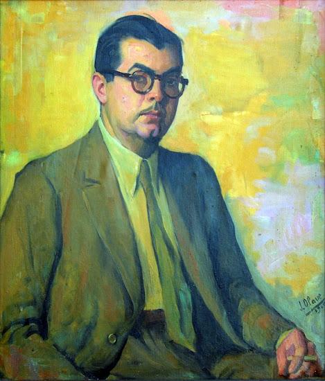 Carlos Ribera Sanchis, Pintor Valenciano, Autorretrato de  Carlos Ribera Sanchis, Pintores Valencianos, Pintors en la Comunitat Valenciana, Galería d'autoretrats