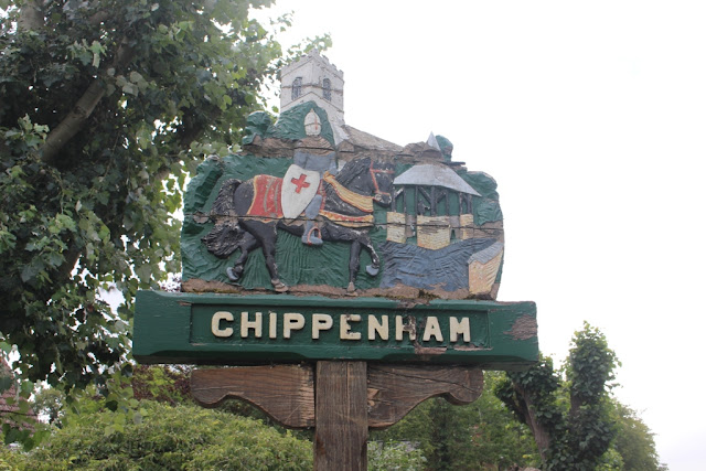 Chippenham, Cambridgeshire's village sign