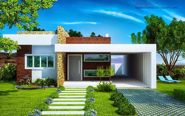 Fachada de casas sencillas y peque as fachadas de casas - Fachadas de casas andaluzas ...