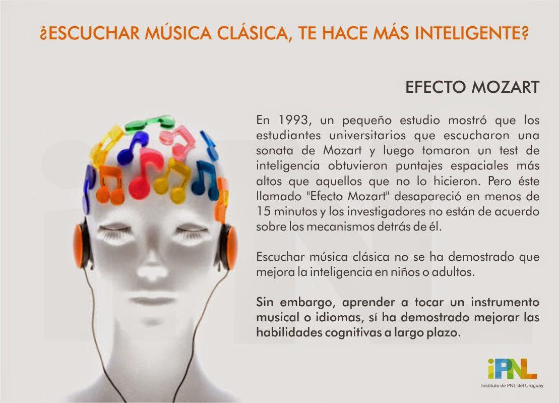 ¿Escuchar música clásica te hace más inteligente?