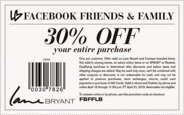 Free Printable Coupons: Lane Bryant Coupons