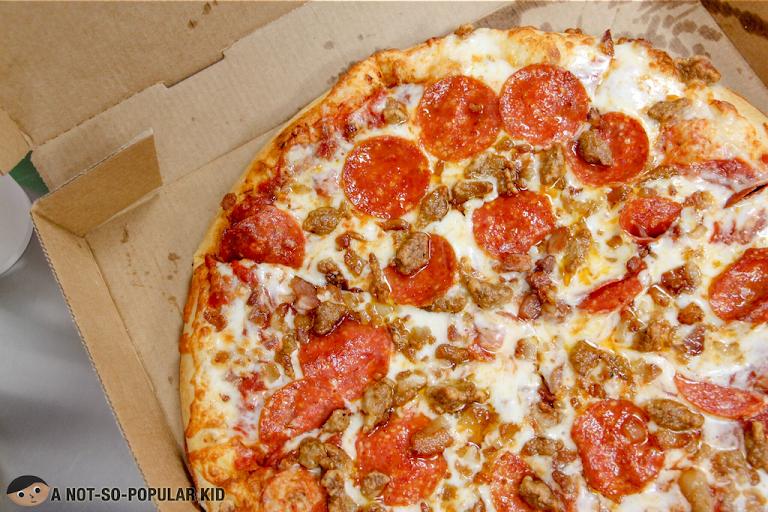 Three-Meat Pizza of Little Caesars - Best Seller