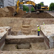 'Monumental' 16th century city walls unearthed by Antwerp tram work