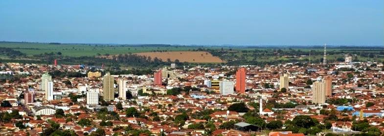 Foto panorâmica da cidade de Barretos - Fonte Portal a Prefeitura de Barretos