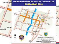 Jalan Ahmad Yani Kudus Dibikin Dua Jalur Selama Dandangan