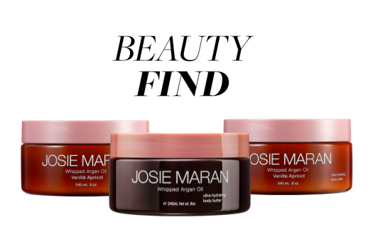 Beauty Find: Josie Maran Whipped Argan Oil Body Butter