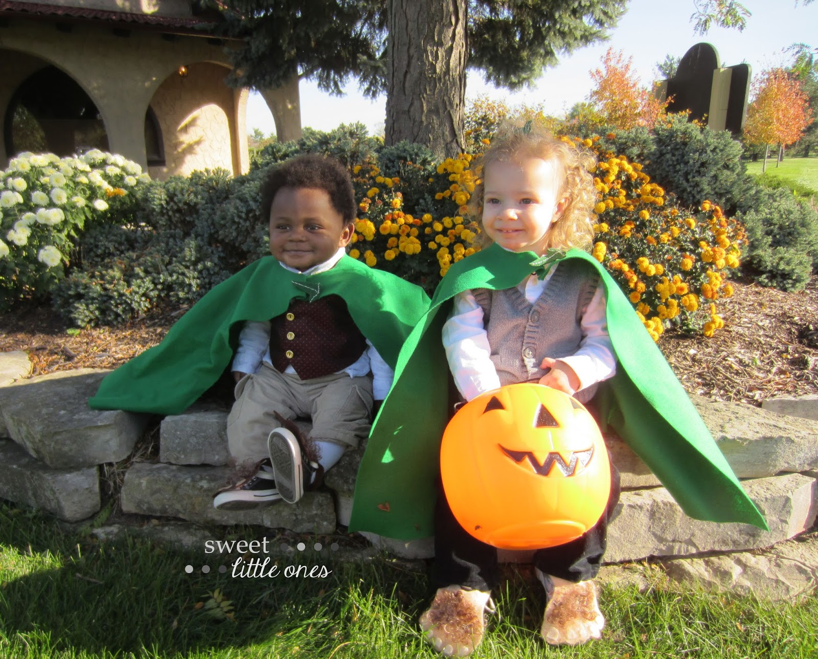 DIY Halloween Costumes for Kids and Toddlers - Hobbits - www.sweetlittleonesblog.com