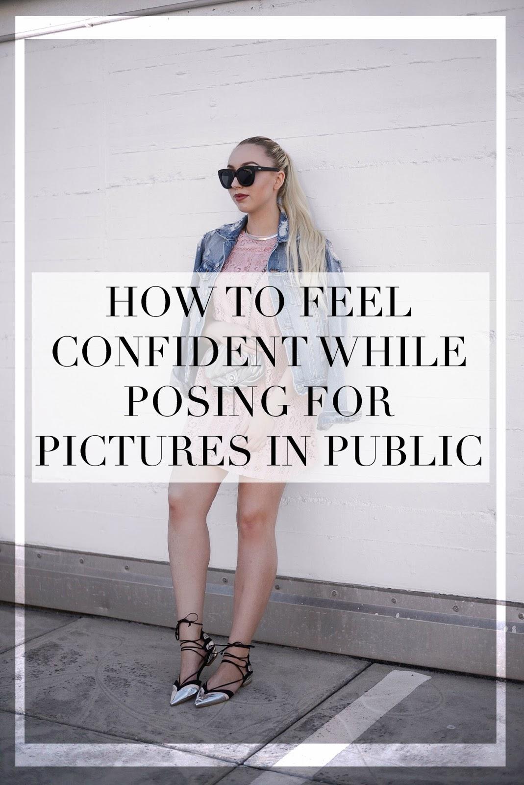posing blogger tips