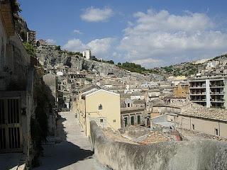 The area of the Sicilian town of Modica in which  Salvatore Quasimodo was born in 1901