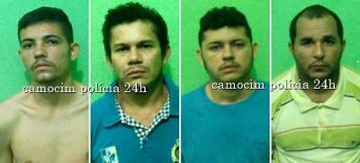 Quatro indivíduos presos e um morto após confronto com a polícia militar em Camocim-CE