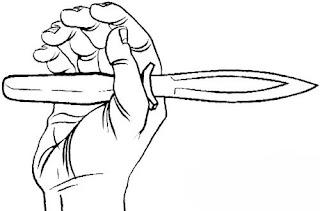Идеальная балансировка боевого ножа