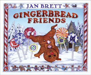 Cover image of Gingerbread Friends book.